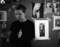 Jenny Saville, by Johnnie Shand Kydd - NPG x87405