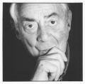 Sir Denys Lasdun, by Geoff Wilson - NPG x76446