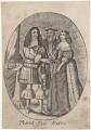 King Charles II; Catherine of Braganza, by Unknown artist - NPG D11129