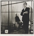 Damien Hirst; Jay Jopling, by Jillian Edelstein - NPG x88991