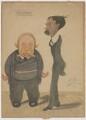 Frederick Frost Blackman; Sir Arthur George Tansley, by Denis Gascoigne Lillie - NPG D11156