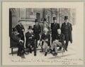 Mark Twain at the House of Commons, by Sir (John) Benjamin Stone - NPG x89001