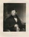 Joseph Brotherton, by Samuel William Reynolds Jr - NPG D11172
