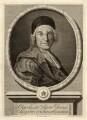 Charles de Marquetel de Saint-Evremond, by Pieter Stevens van Gunst, after  James Parmentier - NPG D11193