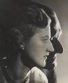 T.S. Eliot; (Esme) Valerie Eliot (née Fletcher), by Angus McBean - NPG P891