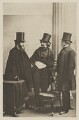 James Thomas Fields; Nathaniel Hawthorne; William Davis Ticknor, by Unknown photographer - NPG Ax29923
