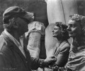 Jacob Epstein; Anna Neagle, by Ida Kar - NPG x125065