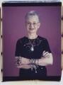Dame Jacqueline Wilson (née Aitken), by Maud Sulter - NPG P949(6)