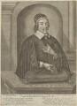 Christopher Love, by Abraham J. Conradus, after  Cornelis Johnson Jr (Jonson van Ceulen) - NPG D11250