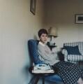 Anita Brookner, by Lucy Anne Dickens - NPG P948(4)
