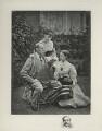 Charles Dickens; Mamie Dickens; Catherine ('Katey') Elizabeth Macready Perugini (née Dickens), by Mason & Co (Robert Hindry Mason) - NPG x24930