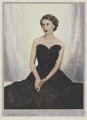 Queen Elizabeth II, by Dorothy Wilding, hand-coloured by  Beatrice Johnson - NPG x34841