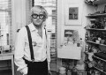 David Hockney, by Bob Collins - NPG x34128