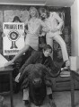 Richard Reid Ingrams; Tony Rushton and two unknown women, by Lewis Morley - NPG x38961