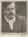 G.K. Chesterton, by Alvin Langdon Coburn - NPG Ax7769