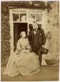 Eliza Cruikshank (née Widdison); George Cruikshank, by Unknown photographer - NPG x7063
