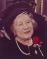 Queen Elizabeth, the Queen Mother, by Alf Shead - NPG x125226