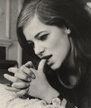 Charlotte Rampling, by Lewis Morley - NPG x125223
