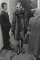 Justin de Villeneuve; Twiggy and an unknown woman, by Lewis Morley - NPG x125241