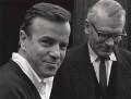 Franco Zeffirelli; Laurence Kerr Olivier, Baron Olivier, by Lewis Morley - NPG x125257