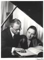Alec Sherman; Gina Bachauer, by Derek Allen - NPG x32798