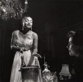 Eartha Kitt and an unknown woman, by (Edward) Russell Westwood - NPG x35237