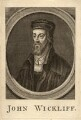 Fictitious portrait called John Wycliffe, by Unknown artist - NPG D11470
