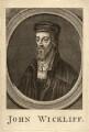 Fictitious portrait called John Wycliffe, by Unknown artist - NPG D11470