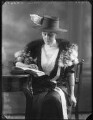 Winifred Ellen Gore (née Reilly), Countess of Arran, by Bassano Ltd - NPG x120080