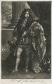 Henry Fitzroy, 1st Duke of Grafton, by Isaac Beckett, published by  Alexander Browne, after  Thomas Hawker - NPG D11403