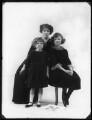 Elisabeth Forbes; Hon. Dorothy Vesey (née Strachen); Anne (née Vesey), Lady Gordon, by Bassano Ltd - NPG x120188