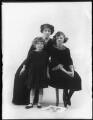 Elisabeth Forbes; Hon. Dorothy Vesey (née Strachen); Anne (née Vesey), Lady Gordon, by Bassano Ltd - NPG x120189