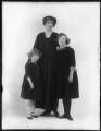 Elisabeth Forbes; Hon. Dorothy Vesey (née Strachen); Anne (née Vesey), Lady Gordon, by Bassano Ltd - NPG x120190