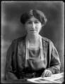 Frances Victoria (née Clifton), Lady Kinnaird, by Bassano Ltd - NPG x120230