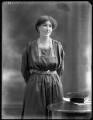 Frances Victoria (née Clifton), Lady Kinnaird, by Bassano Ltd - NPG x120232