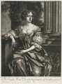Elizabeth Montagu (née Wriothesley), Countess of Montagu when Countess of Northumberland, by Isaac Beckett, published by  Alexander Browne, after  Sir Peter Lely - NPG D11420