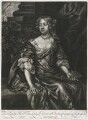 Elizabeth Stanhope (née Butler), Countess of Chesterfield, published by Alexander Browne, after  Sir Peter Lely - NPG D11422