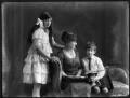 Hon. Lena Onslow; Alice, Lady Strathspey; (Donald) Patrick Grant of Grant, 5th Baron Strathspey, by Bassano Ltd - NPG x120250