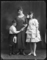 (Donald) Patrick Grant of Grant, 5th Baron Strathspey; Alice, Lady Strathspey; Hon. Lena Onslow, by Bassano Ltd - NPG x120251
