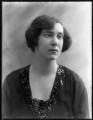 Hon. Irene Adelaide Tennant (née Gage), by Bassano Ltd - NPG x120286