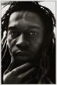 Benjamin Zephaniah, by Miriam Reik - NPG x30307