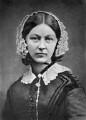 Florence Nightingale, by Henry Hering, copied by  Elliott & Fry - NPG x82368