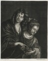 A Boy and Girl with a Bird Nest, published by Alexander Browne, after  Jacob Adriaensz. Backer - NPG D11445