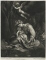 Rest on the Flight into Egypt, published by Alexander Browne, after  Antonio Allegri da Correggio - NPG D11448