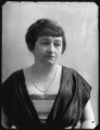 Annie Elizabeth (née Crothers), Lady Illingworth, by Bassano Ltd - NPG x120370