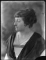 Annie Elizabeth (née Crothers), Lady Illingworth, by Bassano Ltd - NPG x120372