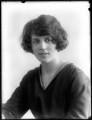 Marjorie Faulkner, by Bassano Ltd - NPG x120376