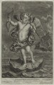 Cupid, by John Smith, published by  Alexander Browne, after  Balthazar van Lemens - NPG D11453
