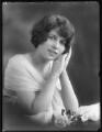 Marjorie Faulkner, by Bassano Ltd - NPG x120378