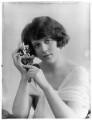 Marjorie Faulkner, by Bassano Ltd - NPG x120379